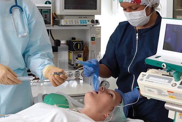Bilderesultat for andningsmask anestesi