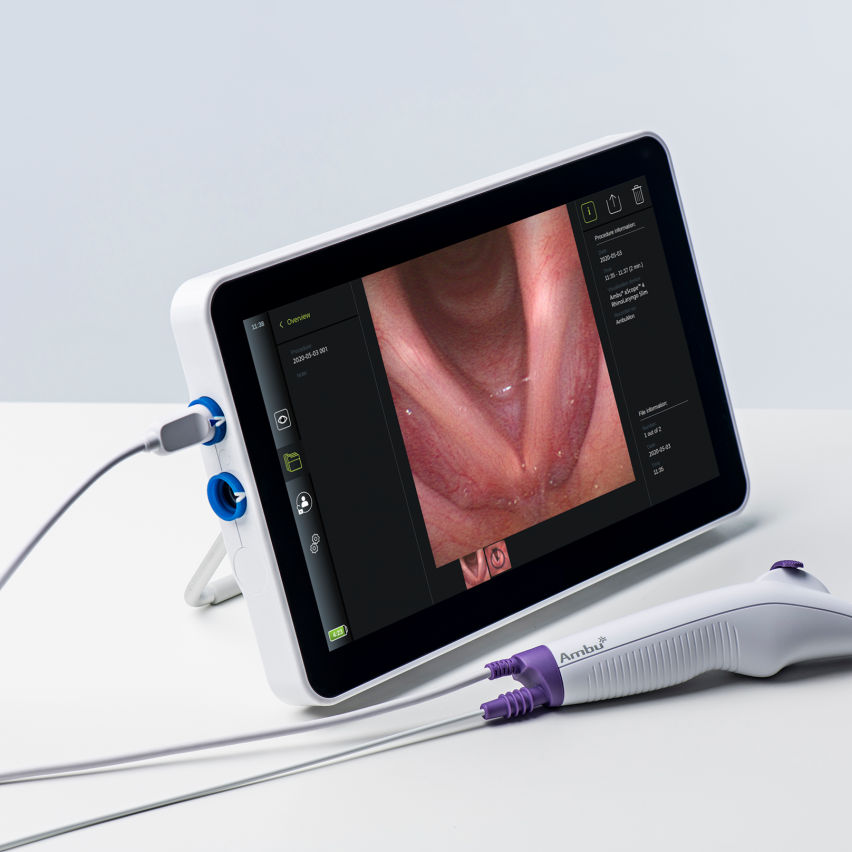 The Ambu® aScope™ 4 Broncho Regular 5.0/2.2 single-use bronchoscope